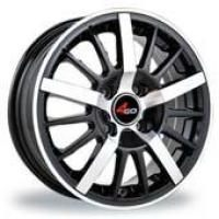 4GO RU002 BMF Wheels - 15x6.5inches/4x100mm