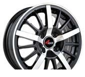 Wheel 4GO RU002 BMF 15x6.5inches/5x108mm - picture, photo, image