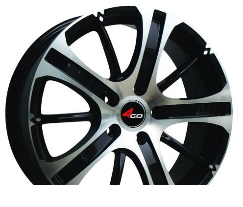 Wheel 4GO RU004 GMMF 15x6inches/5x114.3mm - picture, photo, image