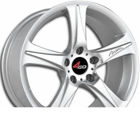 Wheel 4GO RU008 SMF 17x7.5inches/5x108mm - picture, photo, image