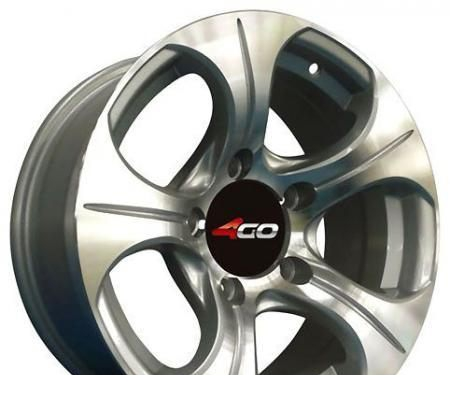 Wheel 4GO RV009 BMF 16x7inches/6x139.7mm - picture, photo, image