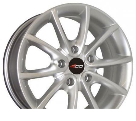 Wheel 4GO RV102 GM 16x7inches/5x110mm - picture, photo, image