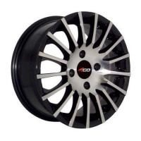 4GO RV105 Silver Wheels - 14x6inches/4x98mm
