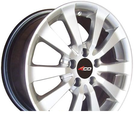 Wheel 4GO RV113 BMF 15x6.5inches/4x100mm - picture, photo, image