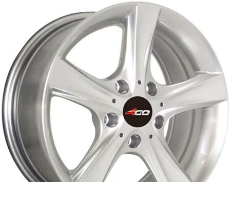 Wheel 4GO RV507 BMF 14x5.5inches/4x100mm - picture, photo, image