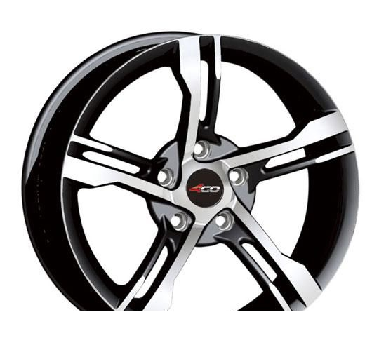 Wheel 4GO RV588 GMMF 14x6inches/4x100mm - picture, photo, image