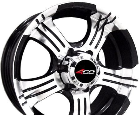 Wheel 4GO RV670 BMF 15x6.5inches/5x139.7mm - picture, photo, image