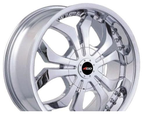 Wheel 4GO SD-110 SML 20x9inches/5x120mm - picture, photo, image