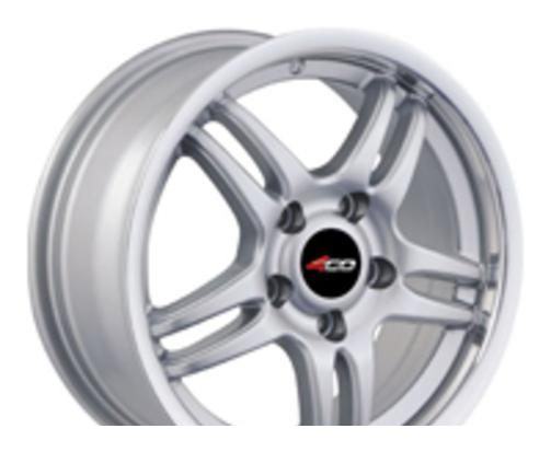 Wheel 4GO SD086 Silver 15x6.5inches/4x98mm - picture, photo, image