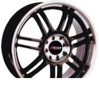 Wheel 4GO XS001 BML 17x7inches/5x114.3mm - picture, photo, image