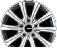 Wheel 4GO XS210 GMMF 15x6inches/5x114.3mm - picture, photo, image