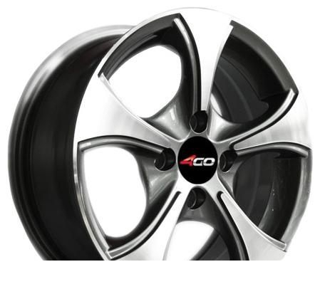 Wheel 4GO XS328 GMMF 15x6.5inches/5x112mm - picture, photo, image