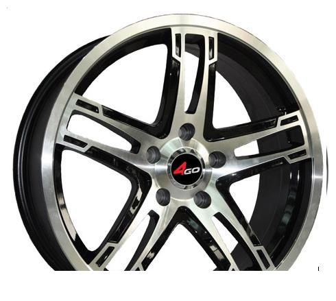 Wheel 4GO XS429 BMF 14x6inches/4x98mm - picture, photo, image