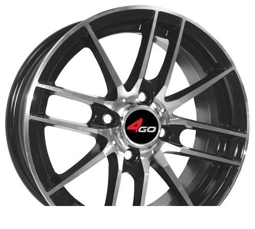 Wheel 4GO XS498 WMF 15x6.5inches/4x98mm - picture, photo, image