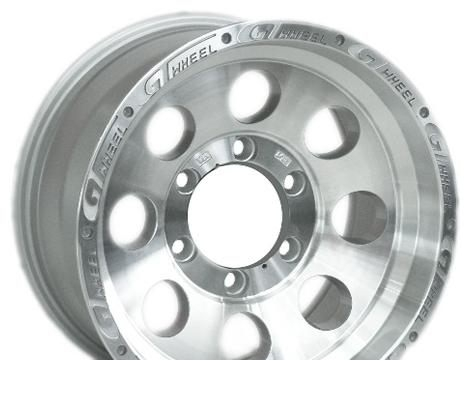 Wheel 4GO XS741 BMFL 16x8inches/5x139.7mm - picture, photo, image