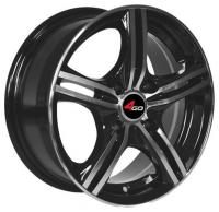 4GO YQ1 BMF Wheels - 15x6.5inches/4x100mm