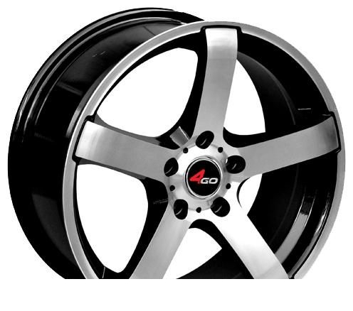 Wheel 4GO YQ10 SMF 15x6.5inches/5x112mm - picture, photo, image