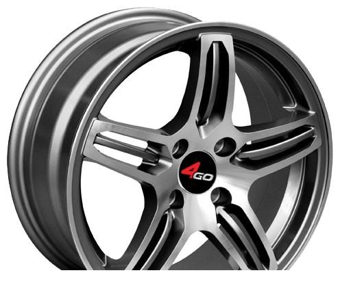 Wheel 4GO YQ12 GMMF 15x6.5inches/4x114.3mm - picture, photo, image