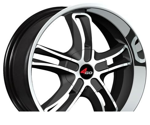 Wheel 4GO YQ14 BMF 17x7.5inches/5x114.3mm - picture, photo, image