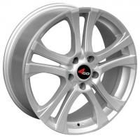 4GO YQ17 Silver Wheels - 14x5inches/4x100mm