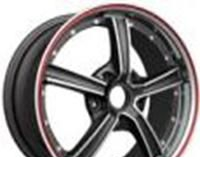 Wheel 4GO YQ18 BMFRL 17x7.5inches/5x114.3mm - picture, photo, image