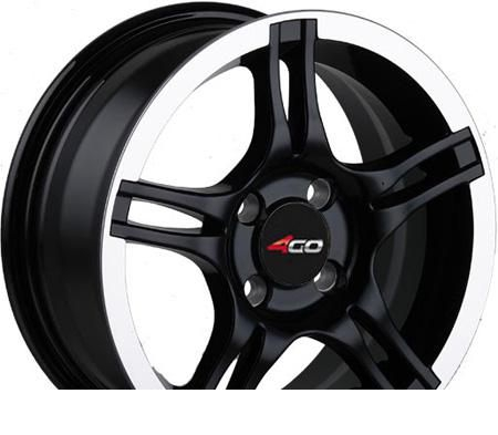 Wheel 4GO YQ23 BML 17x7inches/5x114.3mm - picture, photo, image