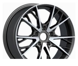 Wheel 4GO YQ24 BMF 17x7.5inches/5x112mm - picture, photo, image