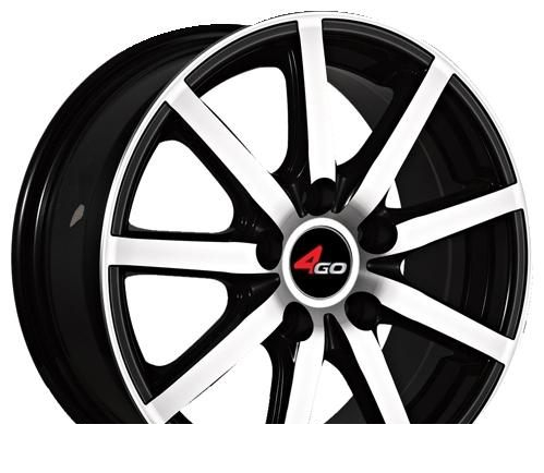Wheel 4GO YQ5 GMMF 16x7inches/5x108mm - picture, photo, image