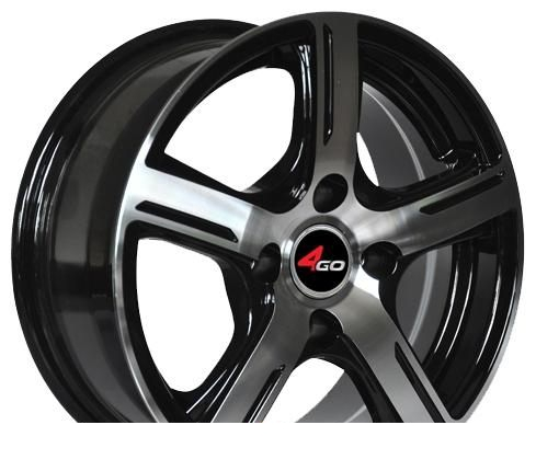 Wheel 4GO YQ6 BMF 16x7inches/5x114.3mm - picture, photo, image