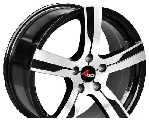 Wheel 4GO YQ9 GMMF 17x7.5inches/5x108mm - picture, photo, image