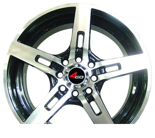 Wheel 4GO YS1 BMF 15x6.5inches/4x100mm - picture, photo, image