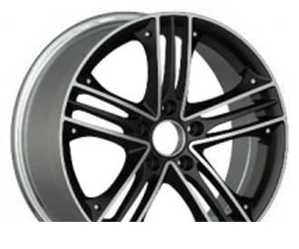 Wheel Advanti AS1021 MBFP 17x7.5inches/5x112mm - picture, photo, image