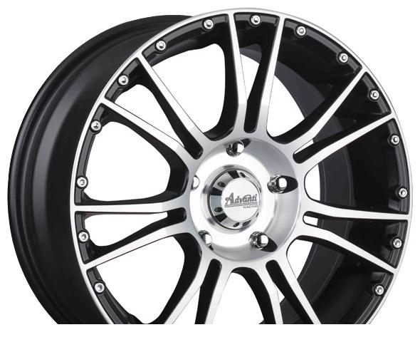 Wheel Advanti AS819 MBFP 16x7inches/5x120mm - picture, photo, image