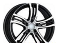 Wheel Advanti SG77 BKF 17x8inches/5x120mm - picture, photo, image