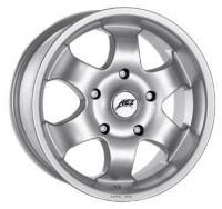 Aez Namib Silver Wheels - 17x7.5inches/5x127mm