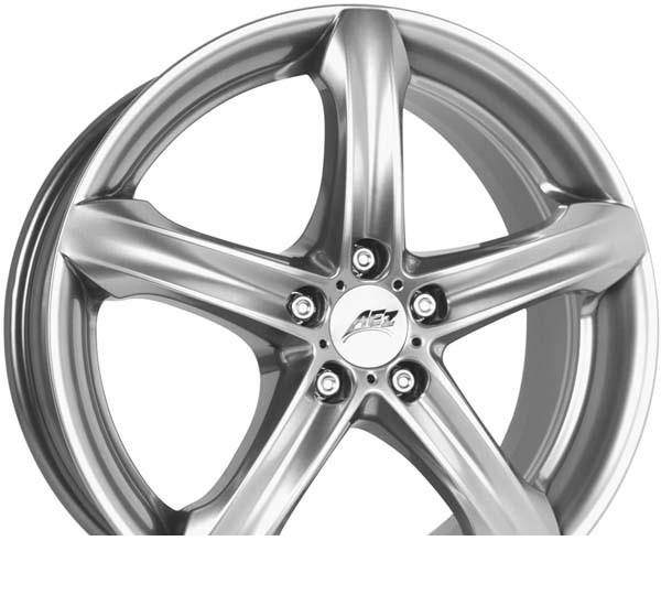 Wheel Aez Yacht Silver 17x7.5inches/5x100mm - picture, photo, image