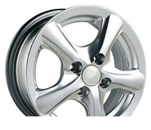 Wheel Aitl 511 H/S 16x7inches/5x114.3mm - picture, photo, image