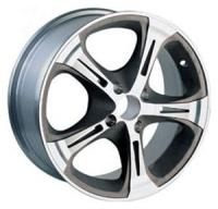 Aitl 522 Silver Wheels - 17x7inches/5x114mm