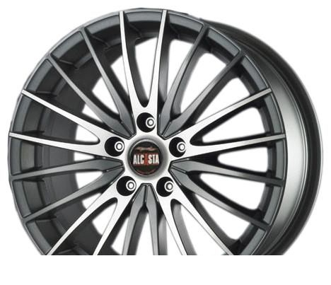 Wheel Alcasta M02 GMF 16x6.5inches/5x114.3mm - picture, photo, image