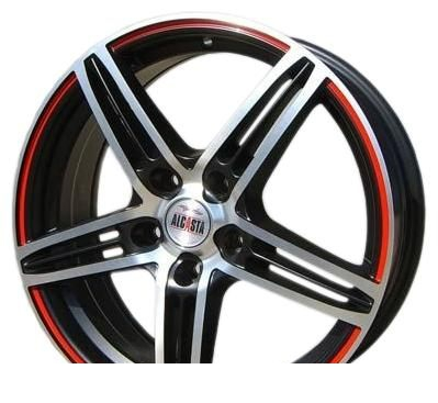 Wheel Alcasta M04 MBRS 17x6.5inches/5x114.3mm - picture, photo, image