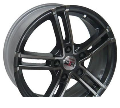 Wheel Alcasta M06 BKF 15x6inches/4x100mm - picture, photo, image