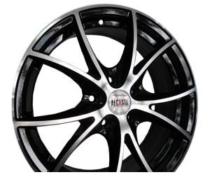Wheel Alcasta M07 BKF 14x6inches/5x100mm - picture, photo, image