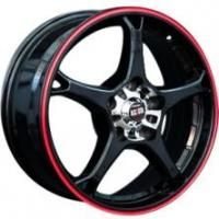 Alcasta M11 BKRS Wheels - 15x6inches/4x98mm