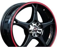 Wheel Alcasta M11 BKRS(BKFRS) 16x6.5inches/5x114.3mm - picture, photo, image