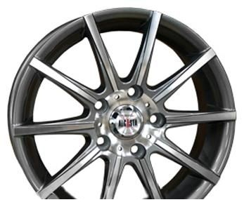 Wheel Alcasta M12 GMF 15x6inches/4x114.3mm - picture, photo, image