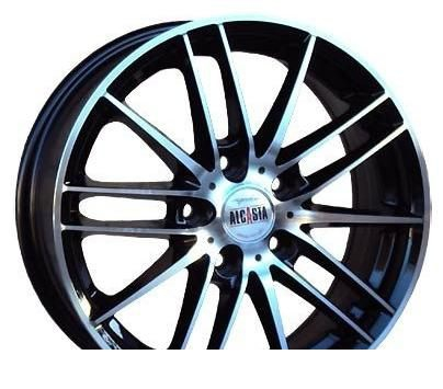 Wheel Alcasta M16 BKF 13x5.5inches/4x98mm - picture, photo, image