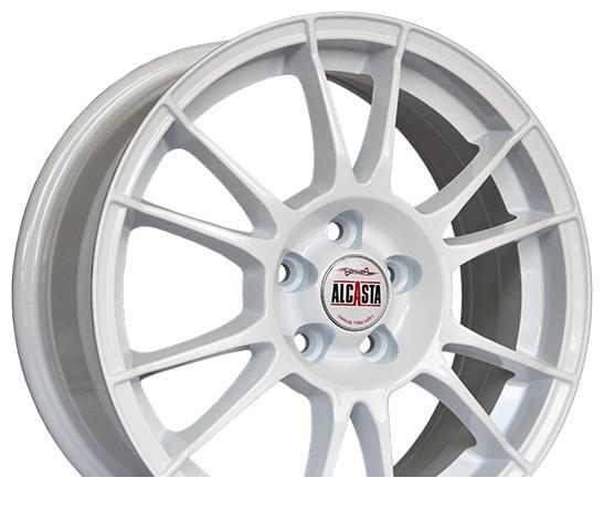 Wheel Alcasta M20 White 17x7inches/5x114.3mm - picture, photo, image