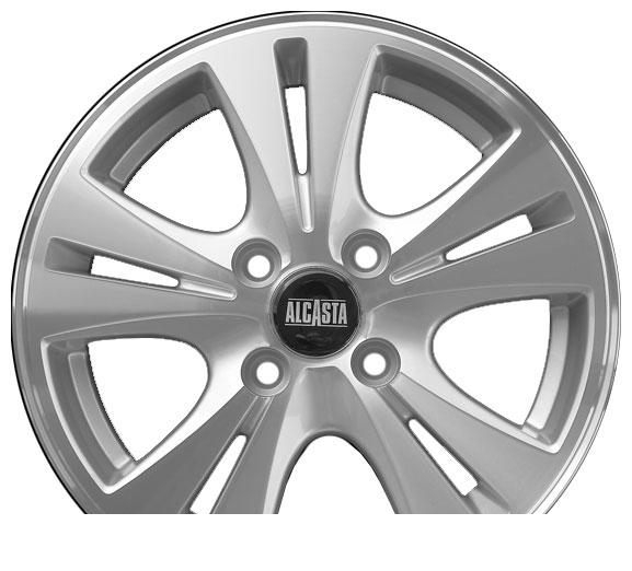 Wheel Alcasta WK-200 RED/M 14x5.5inches/4x100mm - picture, photo, image