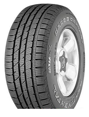 Tire Continental ContiCrossContact LX 235/55R17 99V - picture, photo, image