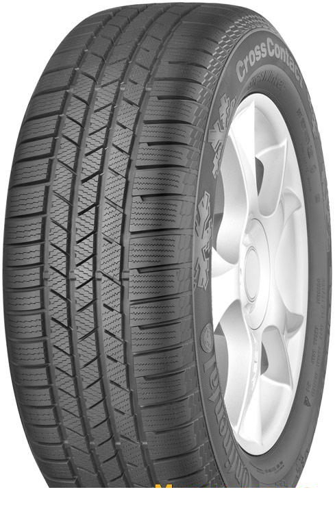 Tire Continental ContiCrossContact Winter 205/70R15 96T - picture, photo, image
